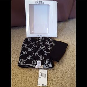 Brand new with tags Michael Kors scarf and hat